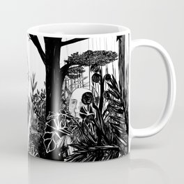 some dudes hanging out in the jungle Coffee Mug