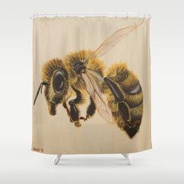 Bee IV (Leon) Shower Curtain