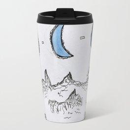 celestial crescent Travel Mug