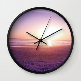 Fluorescent Beach Wall Clock