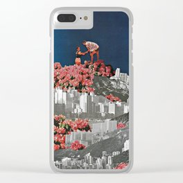 Me and the Moon Clear iPhone Case