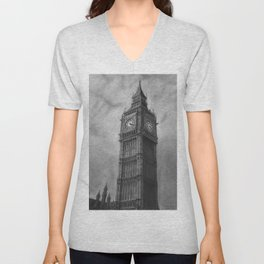 Big Ben London Unisex V-Neck