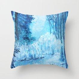 Ester Forest Throw Pillow