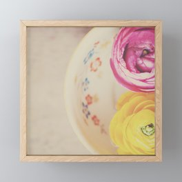 everyone needs a little cup of sunshine ... Framed Mini Art Print