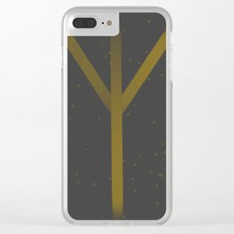 Protection Rune Clear iPhone Case