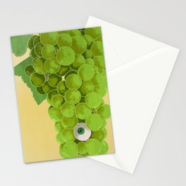 Grapes at Sunriseye (Version A) Stationery Cards