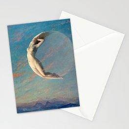 Albert Aublet Selene 1880 Stationery Cards