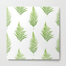Fern seamless pattern. Metal Print