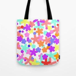 Happy floral pattern spring Cute Tote Bag