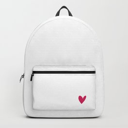 Sweet Valentines Day Sorry Cupid My Heart is Full of Jesus Religious Valentine Backpack