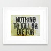 atheist Framed Art Prints featuring Atheist by WebbDesigns