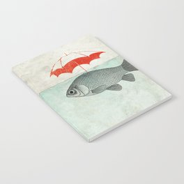 Umbrella Goldfish Notebook
