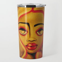 FIREY RED Travel Mug