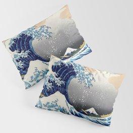 The Great Wave off Kanagawa - Katsushika Hokusai Pillow Sham