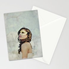 Masquerade in the Clouds Stationery Cards