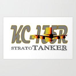KC-135R Shadows Art Print