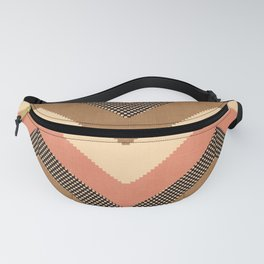 Willow in Peach Multi Fanny Pack