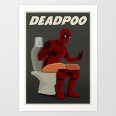 DEADPOO Art Print