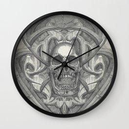Crossed scythes Wall Clock