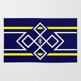 Minnion Flag Rug