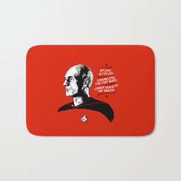 """TNG Valentine - """"My Love Is A Fever"""" Bath Mat"""