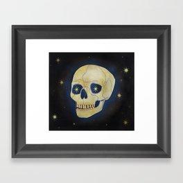Blue Shift Framed Art Print