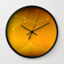 Abstract Background 15 Wall Clock