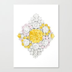 Romb Ring Canvas Print
