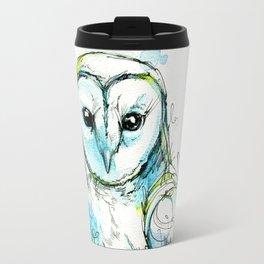 Aqua Tyto Owl Travel Mug