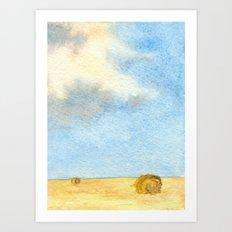 Prairie Sky Art Print