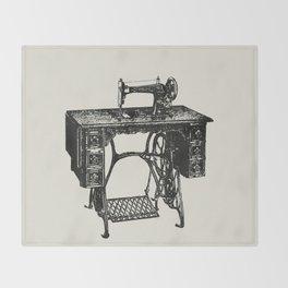 Singer sewing machine Throw Blanket