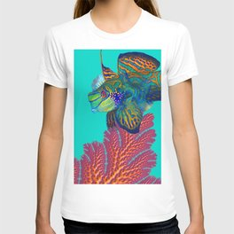 Coral Mandarins T-shirt