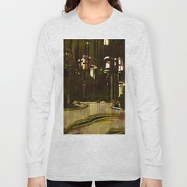 Spiritual Cathedral inner clock Long Sleeve T-shirt