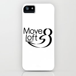 Move Loft Logo iPhone Case