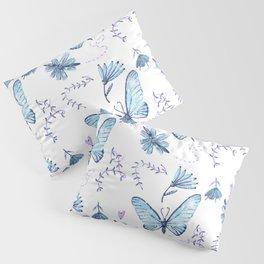 The Butterfly Effect - Blue Pillow Sham