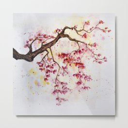 Cherry Tree Metal Print