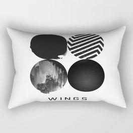 BTS Wings Album Cover Rectangular Pillow