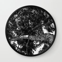 Twist tree Wall Clock