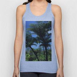 Daintree rainforest fern trees Unisex Tank Top