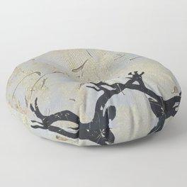 Reindeer Art Floor Pillow
