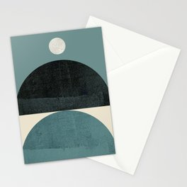 Abstraction_SHAPE_BALANCE_POP_ART_Minimalism_001AB Stationery Cards