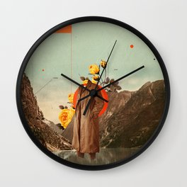 You Will Find Me There Wall Clock