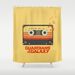 Awesome mix vol.1 Shower Curtain