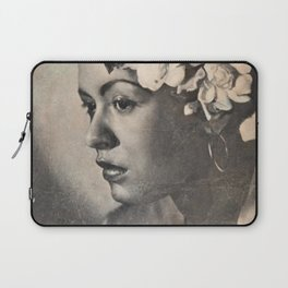 1946 Billie Holiday New York City Town Hall Concert Concert Poster Laptop Sleeve