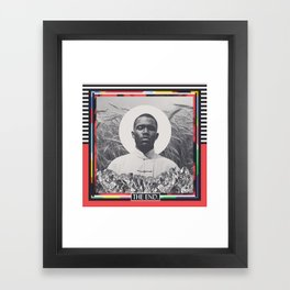 Fire Sermon (There Will Be Nothing) Framed Art Print