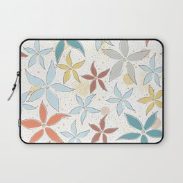 Seamless Pattern With Flowers Laptop Sleeve