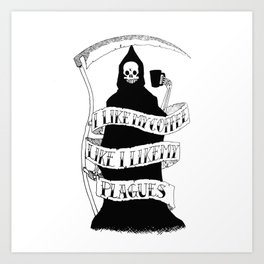 Bubonicaffeine Art Print