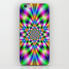 Star in Neon Lights iPhone & iPod Skin