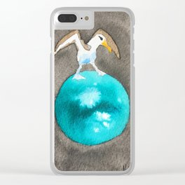 Albatross and Titan Clear iPhone Case