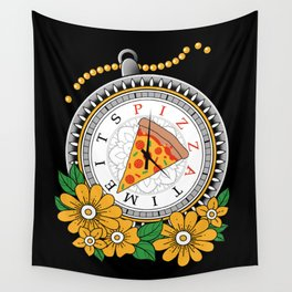 It's Pizza Time Wall Tapestry